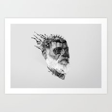 Strange Shapes Art Print