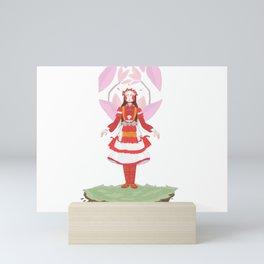 Village girl Mini Art Print