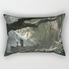 La Jungle Rectangular Pillow