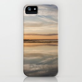 Baltic sea and sunset iPhone Case