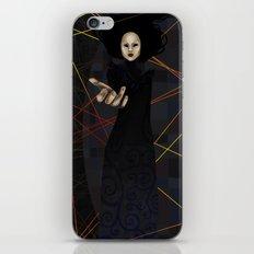 The Raven Queen iPhone & iPod Skin
