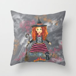Zelda the Good Witch Throw Pillow