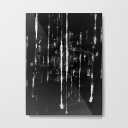 Diving into the Wreck Abstraction Metal Print