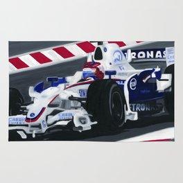 Robert Kubica Wins Canadian Grand Prix for BMW Sauber 2008 Rug