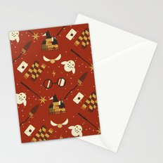 Wizarding Pattern Stationery Cards