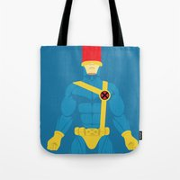 cyclops Tote Bags featuring Cyclops by gallant designs