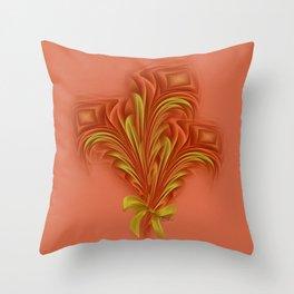 Color Meditation - Orange  Throw Pillow