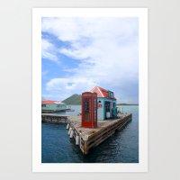 Pusser's Marina Cay in the Caribbean Art Print