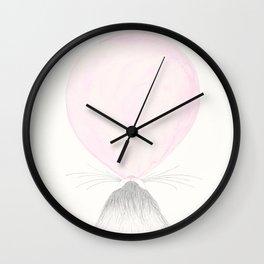 Bubble Cat Wall Clock