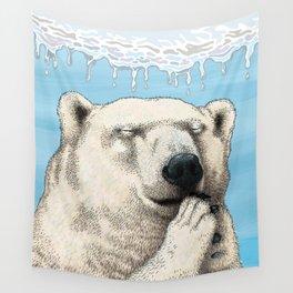 Polar prayer Wall Tapestry