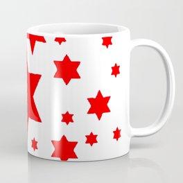 JULY 4TH  RED STARS DECORATIVE DESIGN Coffee Mug
