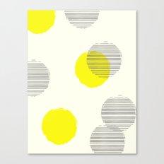 Overcast Polka Dots Canvas Print