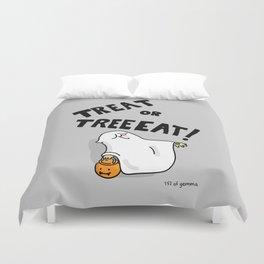 treat or treat! Duvet Cover