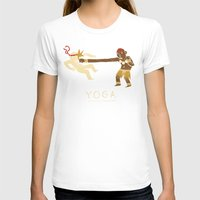 yoga T-shirts featuring yoga. by Louis Roskosch