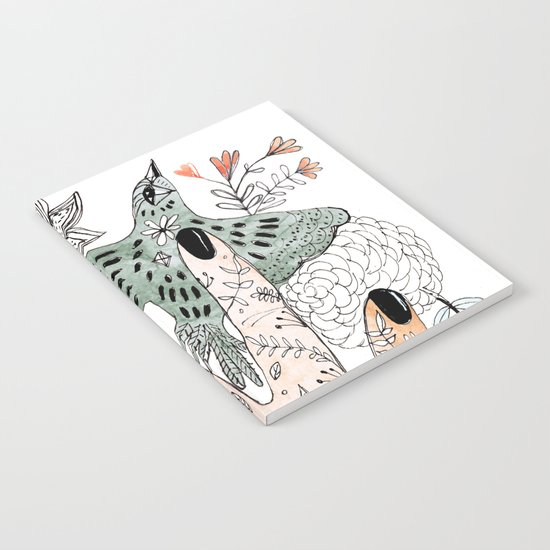 Free The Bird Notebook