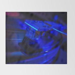 Vinyl Nights Throw Blanket