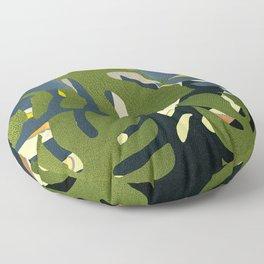 Tropical plant Floor Pillow