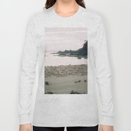 Coles Bay Sunset Seagull Long Sleeve T-shirt