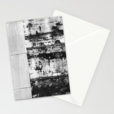 Black and White Abstract No. 0582 Stationery Cards