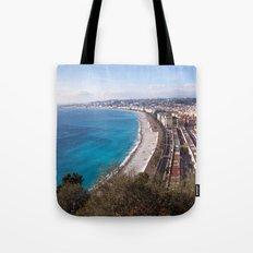 Nice France 6071 Tote Bag