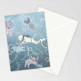 Scuba Dogs Stationery Cards