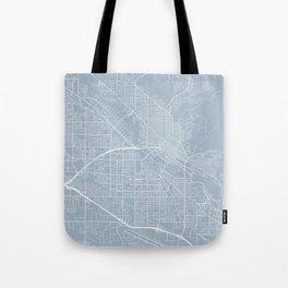 Boise Map, USA - Slate Tote Bag
