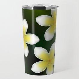 Frangipani from beautiful Bali Travel Mug