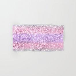 Unicorn Girls Glitter #8 #shiny #pastel #decor #art #society6 Hand & Bath Towel