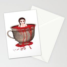 Cup of Blood Stationery Cards