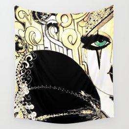 HIPPODROME HARLEQUIN PIERROT Wall Tapestry