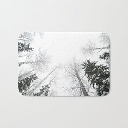 """""""Never cut a tree down in the wintertime"""" Bath Mat"""