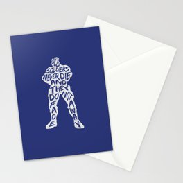 Soldier 76 Type illustration Stationery Cards