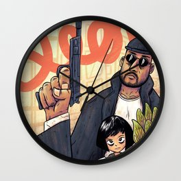 The professional Leon Wall Clock