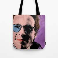 american psycho Tote Bags featuring American Psycho by sbs' things