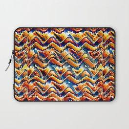 Vibrant Geometric Motif Laptop Sleeve