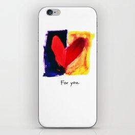 Charmed Valentine iPhone Skin
