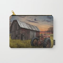 Abandoned Farmall Tractor and Barn Carry-All Pouch