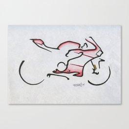 Panigale Superbike Canvas Print