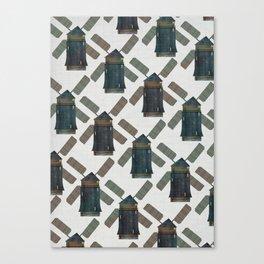 windmill print. Canvas Print