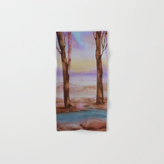 Woods Hand & Bath Towel