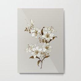 Flowers 9 Metal Print