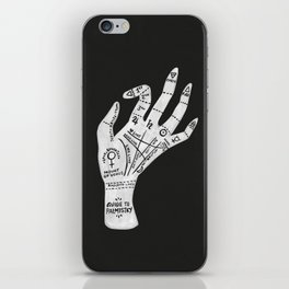 Palm Reading iPhone Skin