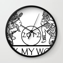 2012 Mayan Players - Rock My World (Tshirt) Wall Clock