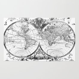 World map rugs society6 world map old vintage rug gumiabroncs Images