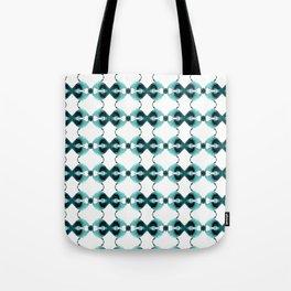 Teal Calypso Tote Bag