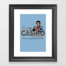 Lando's Casino Framed Art Print