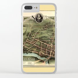 Stratford On Avon 1908 Clear iPhone Case