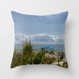 Mermaid View Throw Pillow