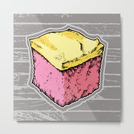 Pink Lemonade Cake Metal Print