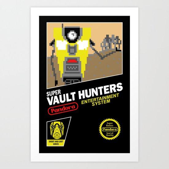 Super Vault Hunters Art Print